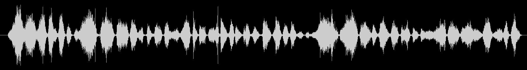 マーカー:ライティング、ロング、ペ...の未再生の波形