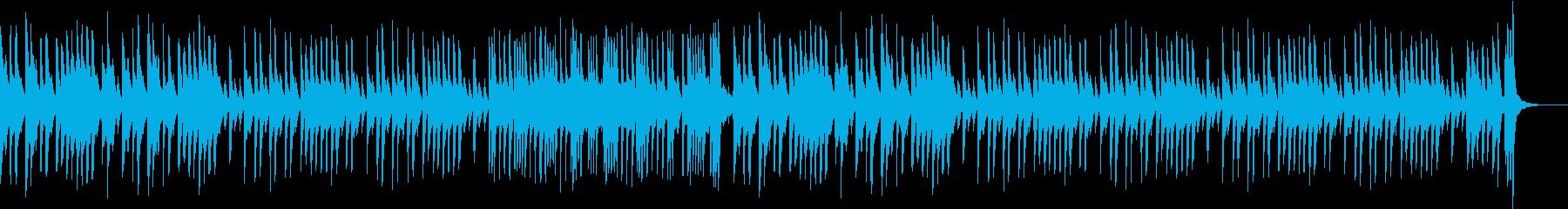 楽しくてワクワクする軽快なピアノ曲3の再生済みの波形