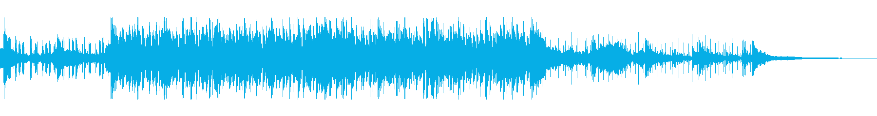 ダークな雰囲気漂うシックなバラードの再生済みの波形
