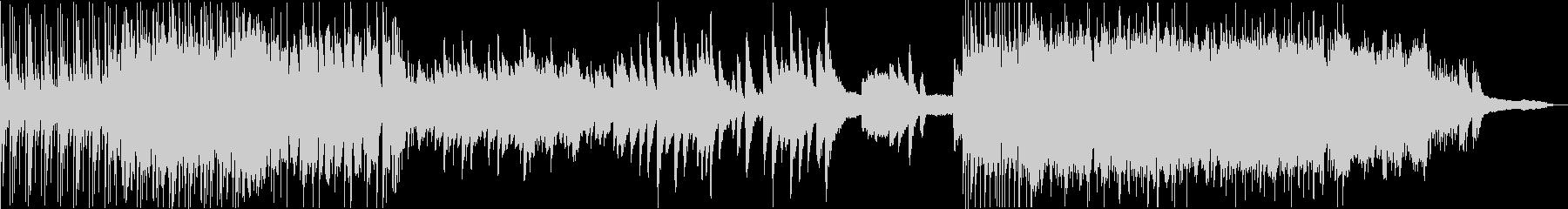 ジャズビート・バラード・ポップのメドレーの未再生の波形