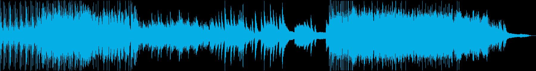 ジャズビート・バラード・ポップのメドレーの再生済みの波形