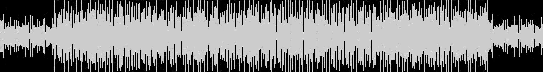 シンプルクールなシンセの未再生の波形