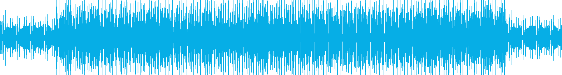 シンプルクールなシンセの再生済みの波形