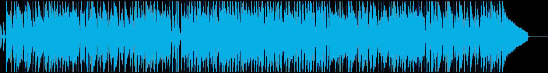 CMのような哀愁感漂う切ないジャズの再生済みの波形