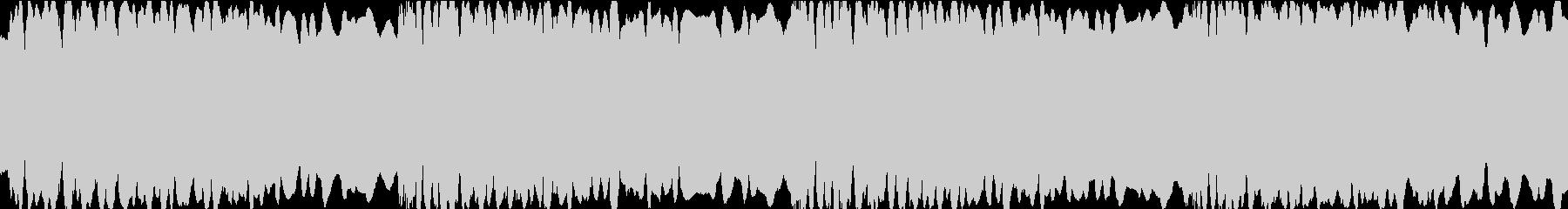 サイレンの音・ループの未再生の波形