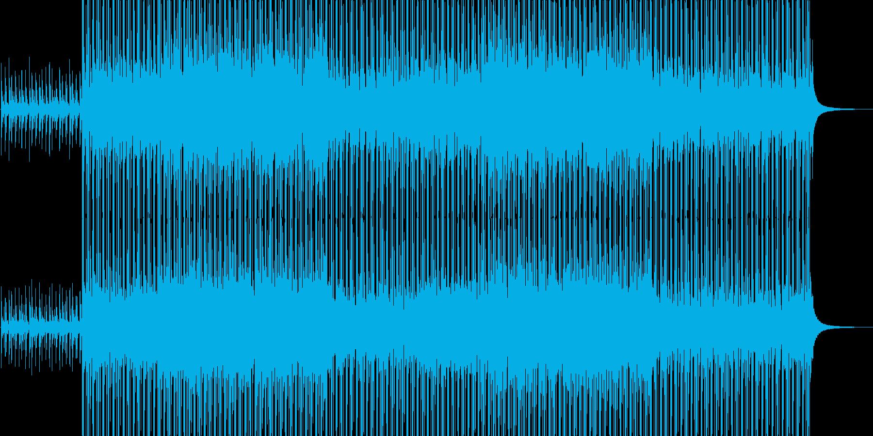 夏、海、トロピカル、EDM、爽やか、洋楽の再生済みの波形