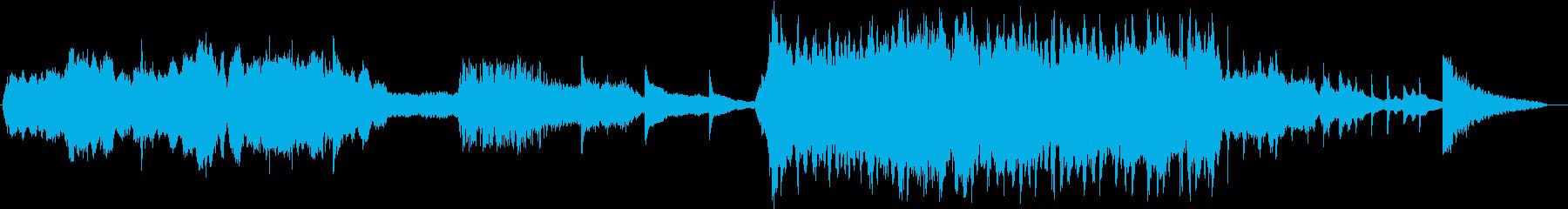映画「インセプション」のハンス・ジ...の再生済みの波形