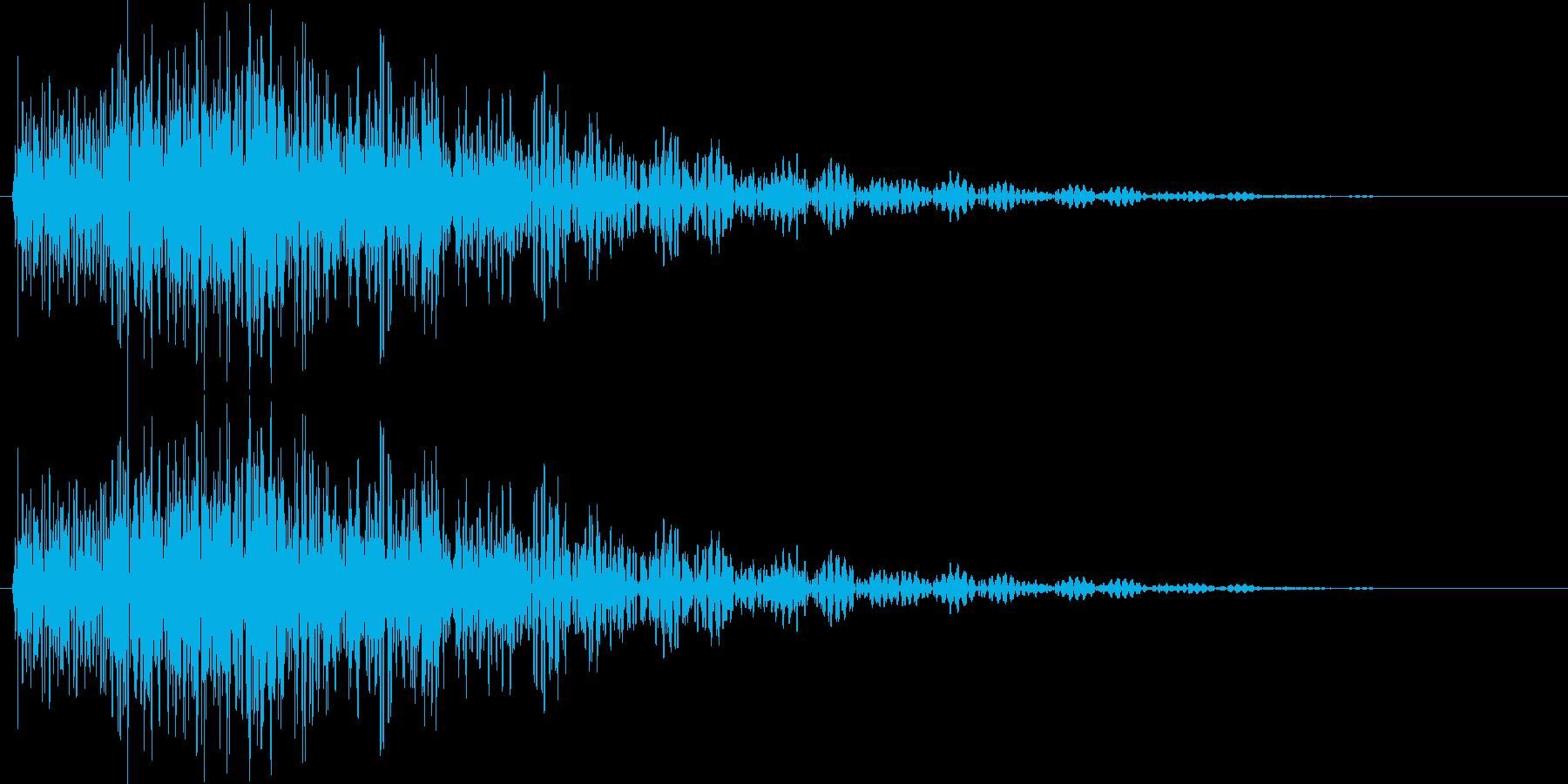 タララン 低 (ボタン、スタート音)の再生済みの波形
