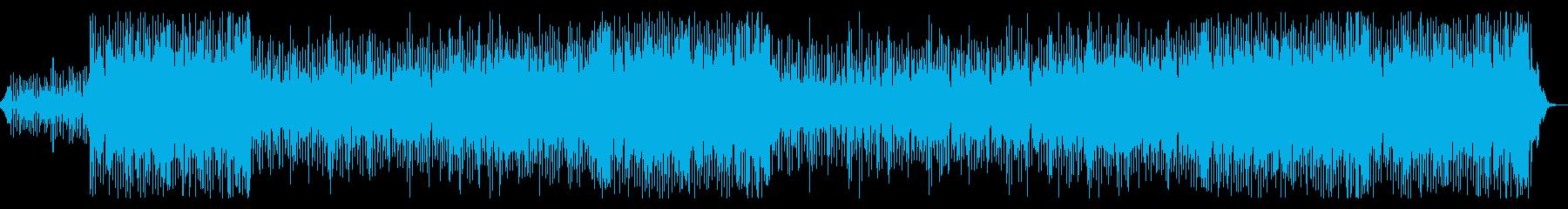 元気になれるパワフルなEDMの再生済みの波形
