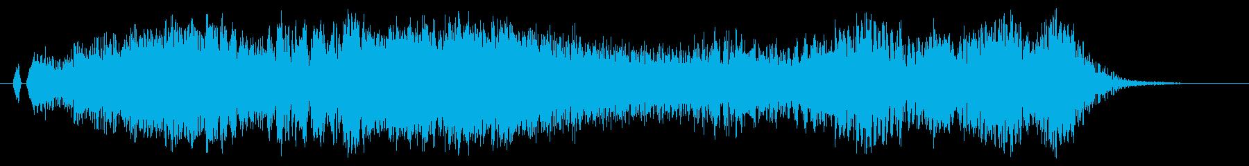 シャキーン!雷、電気系の魔法に最適です1の再生済みの波形