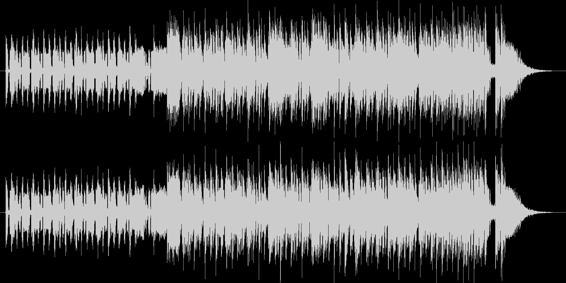 デジタルでおしゃれな都会系の曲です。I…の未再生の波形