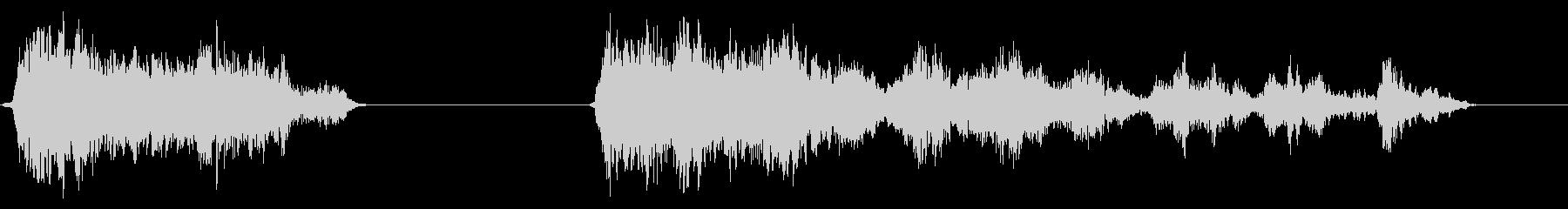 ホイッスル、グループ、2バージョン...の未再生の波形