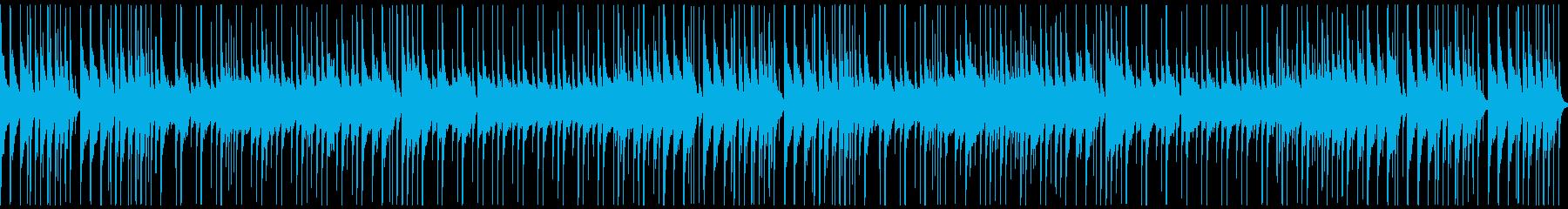 自然と祭りをイメージした日本民謡風の楽曲の再生済みの波形