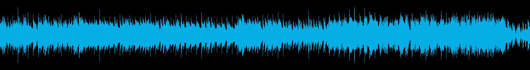 初々しくわくわくした日常のBGMの再生済みの波形