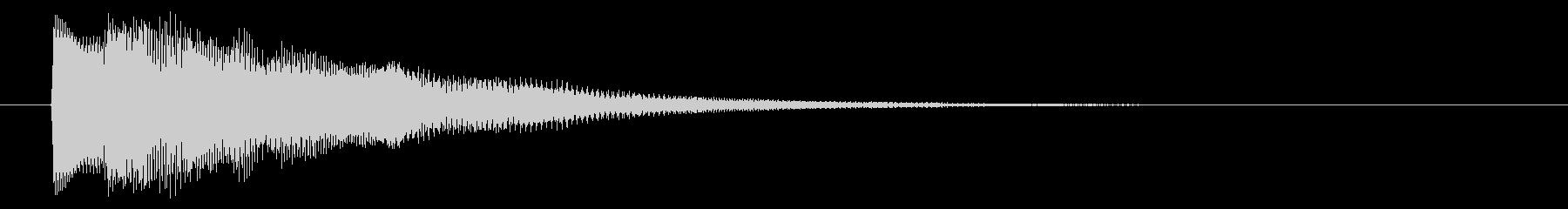 ニュース テロップ02-2の未再生の波形