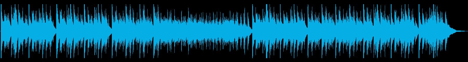 優しく切ないアコースティックギター曲の再生済みの波形