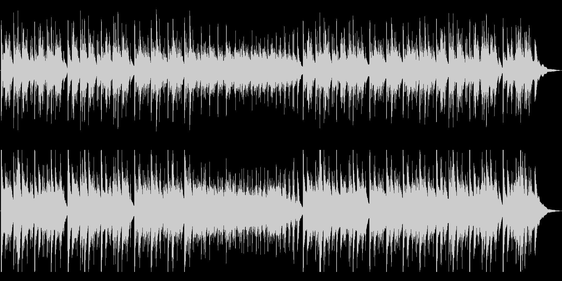 優しく切ないアコースティックギター曲の未再生の波形