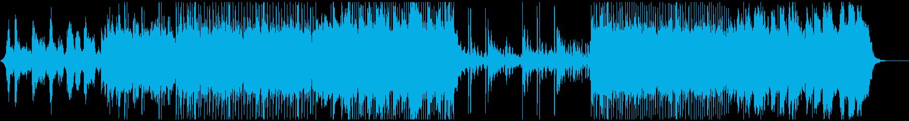 穏やかな森-ギターエレクトロの再生済みの波形