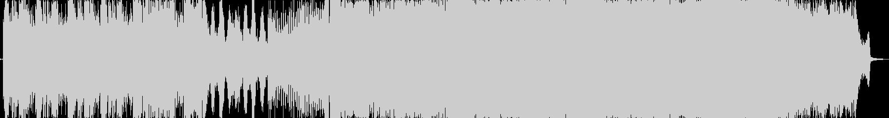ピアノの旋律が美しいトランスの未再生の波形