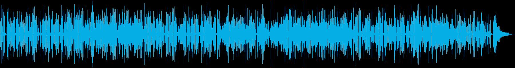 陽気な雰囲気のラグタイム風ピアノジャズの再生済みの波形