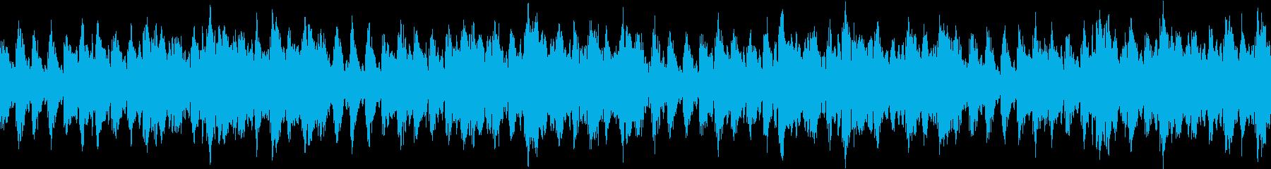 ループ、オルゴールのバラード、リラックスの再生済みの波形