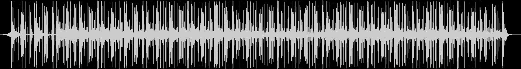 情報処理BGMの未再生の波形