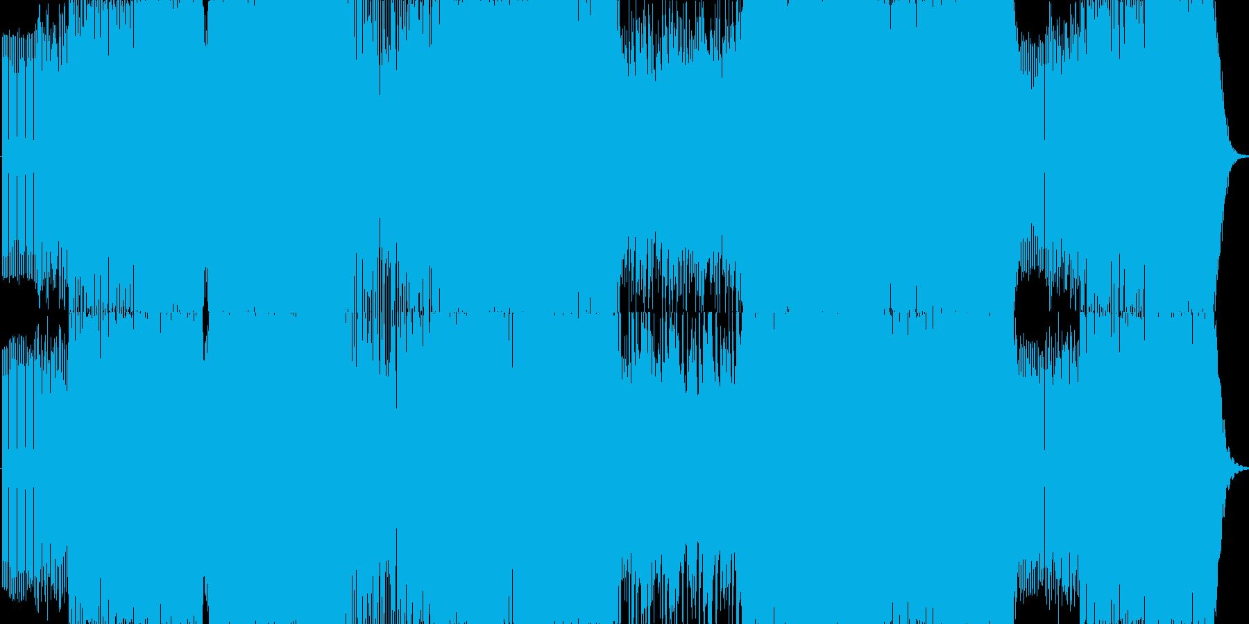 原曲よりもかなり早めのドラムンベースで…の再生済みの波形