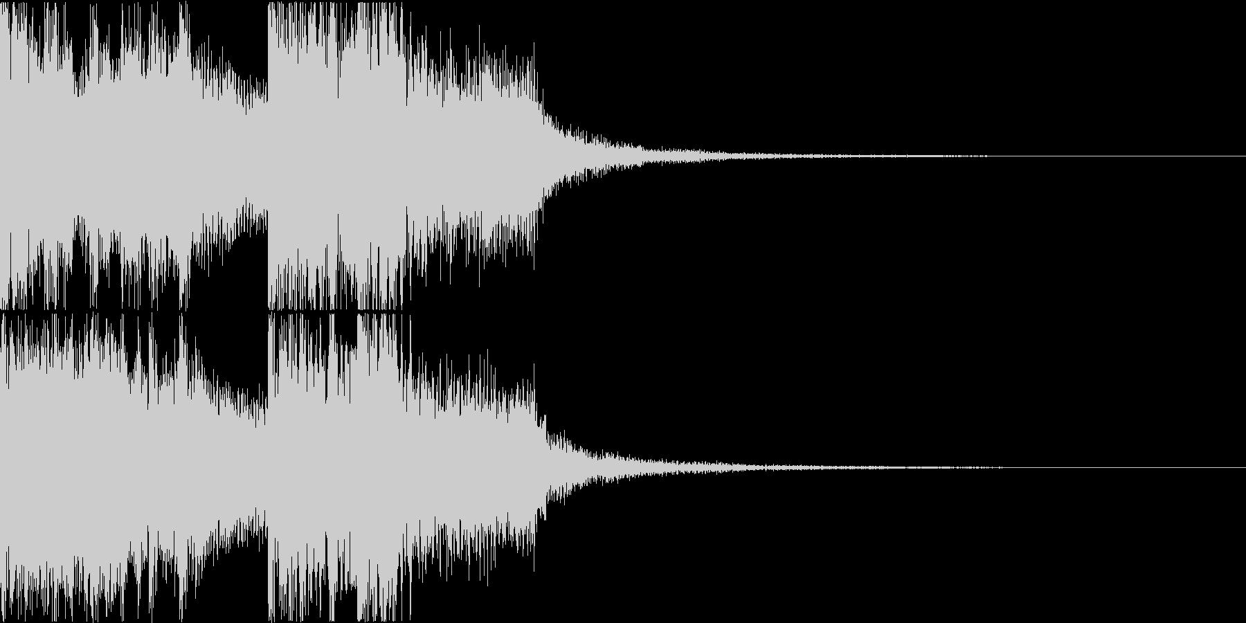 三味線・箏・尺八・和太鼓・ジングル03の未再生の波形