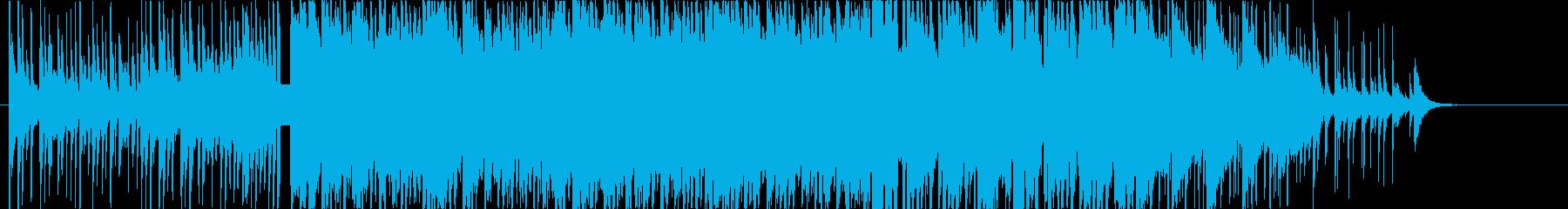 激しくダークな三味線ロック-短縮版-の再生済みの波形
