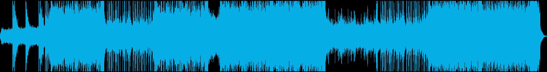 パワフルなシンセリフ、戦闘・レースBGMの再生済みの波形