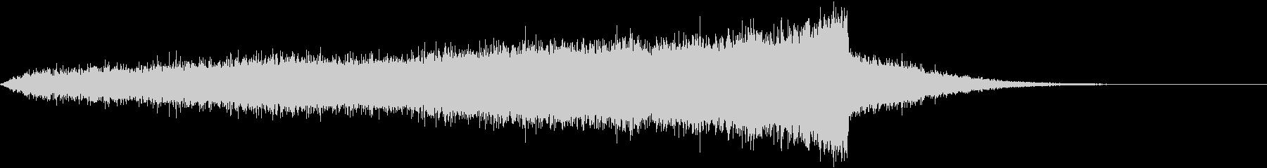 CINEMATIC RISER_10の未再生の波形