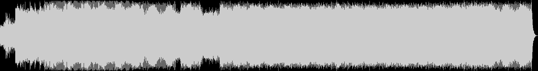 ゲームBGM用ダークなミニマルテクノの未再生の波形