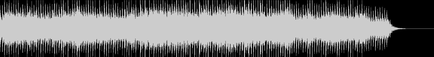 イルミネーションBGM③ビート感の未再生の波形