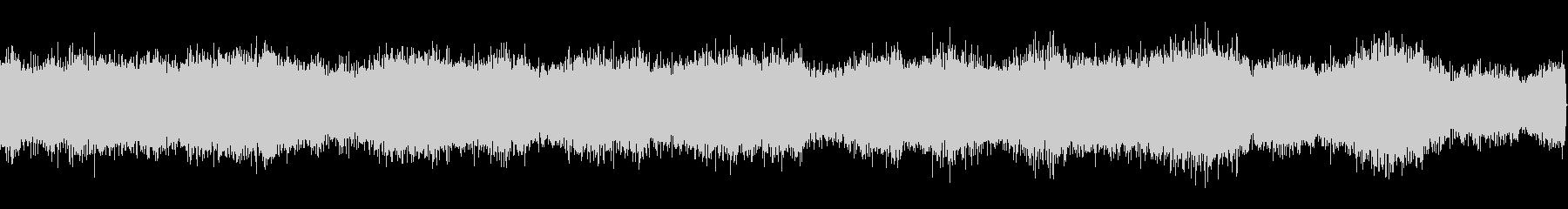 北海道虫の声(夏)の未再生の波形