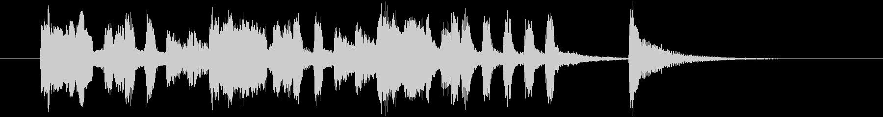 明るく豪華な管楽器シンセサウンドの未再生の波形