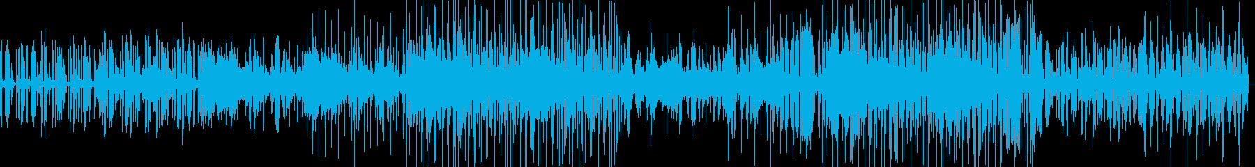 南国をイメージしたおしゃれBGMの再生済みの波形