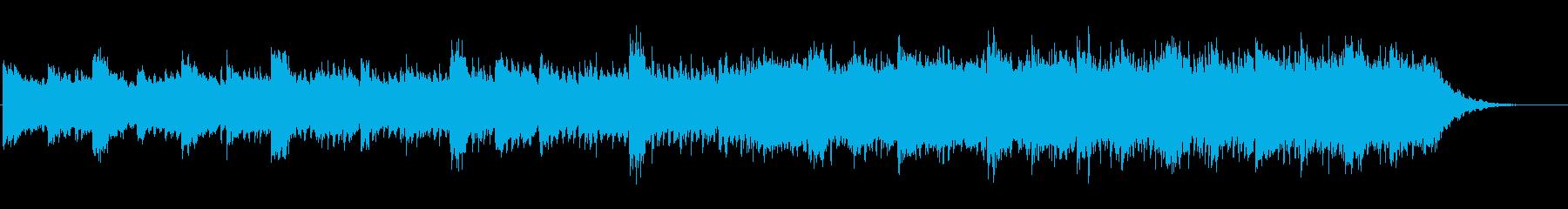 テック系商品紹介ムービー用アンビエントの再生済みの波形
