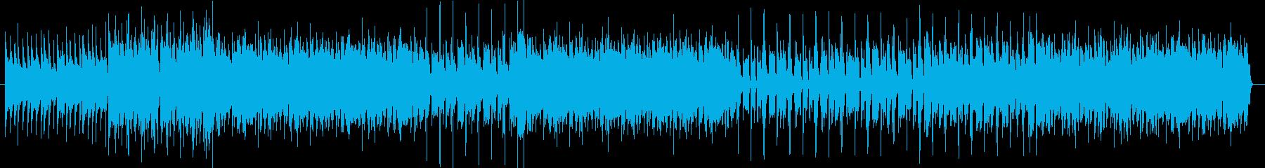 クールなミドルテンポのトラックの再生済みの波形