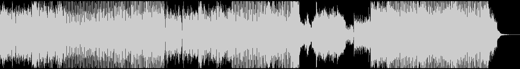 クラシカルな響きのダブステップの未再生の波形
