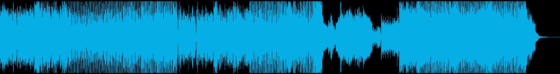 クラシカルな響きのダブステップの再生済みの波形