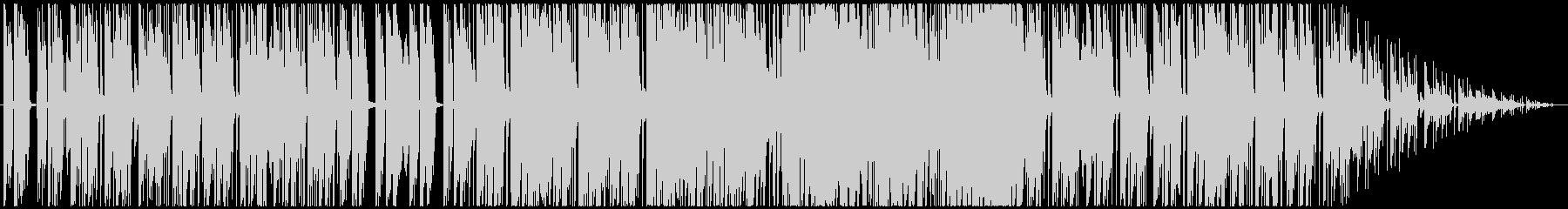 ゆったりおしゃれカフェBGMの未再生の波形