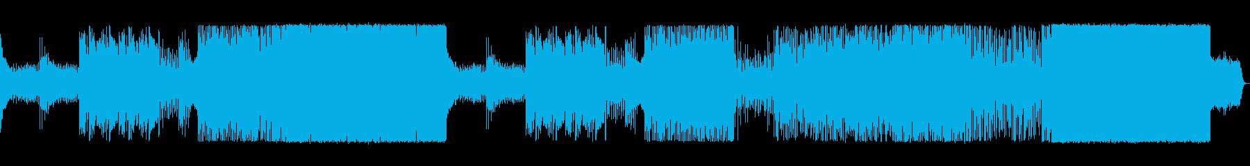ほのぼのしたEDMの再生済みの波形