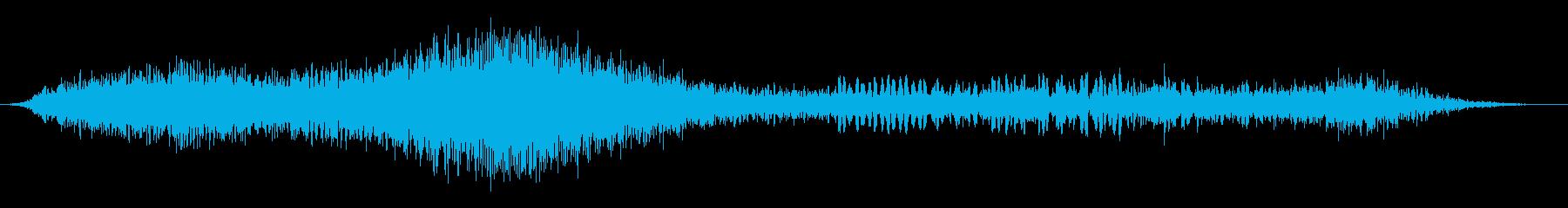 フェーズドオーバーヘッドジェットフ...の再生済みの波形