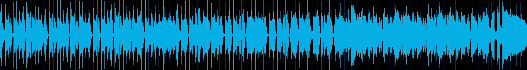 春を感じる前向きBGM ループ仕様の再生済みの波形