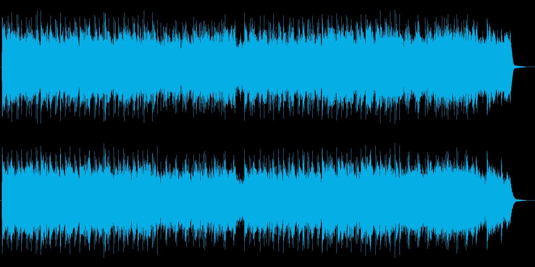 穏やかで温かみのあるバラードの再生済みの波形