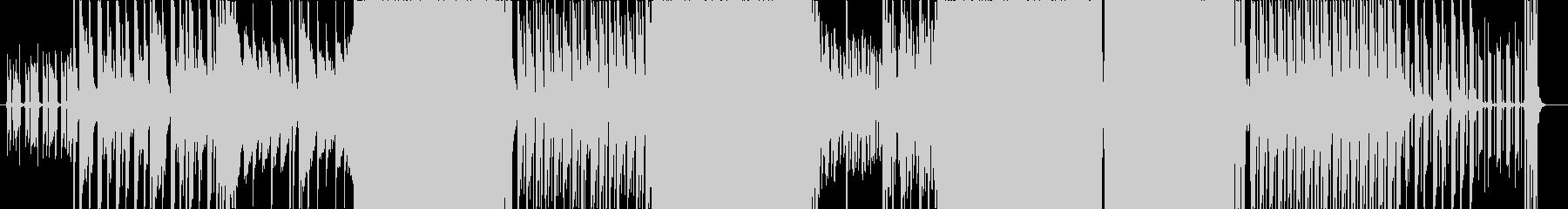 阿弥陀ワルツの未再生の波形