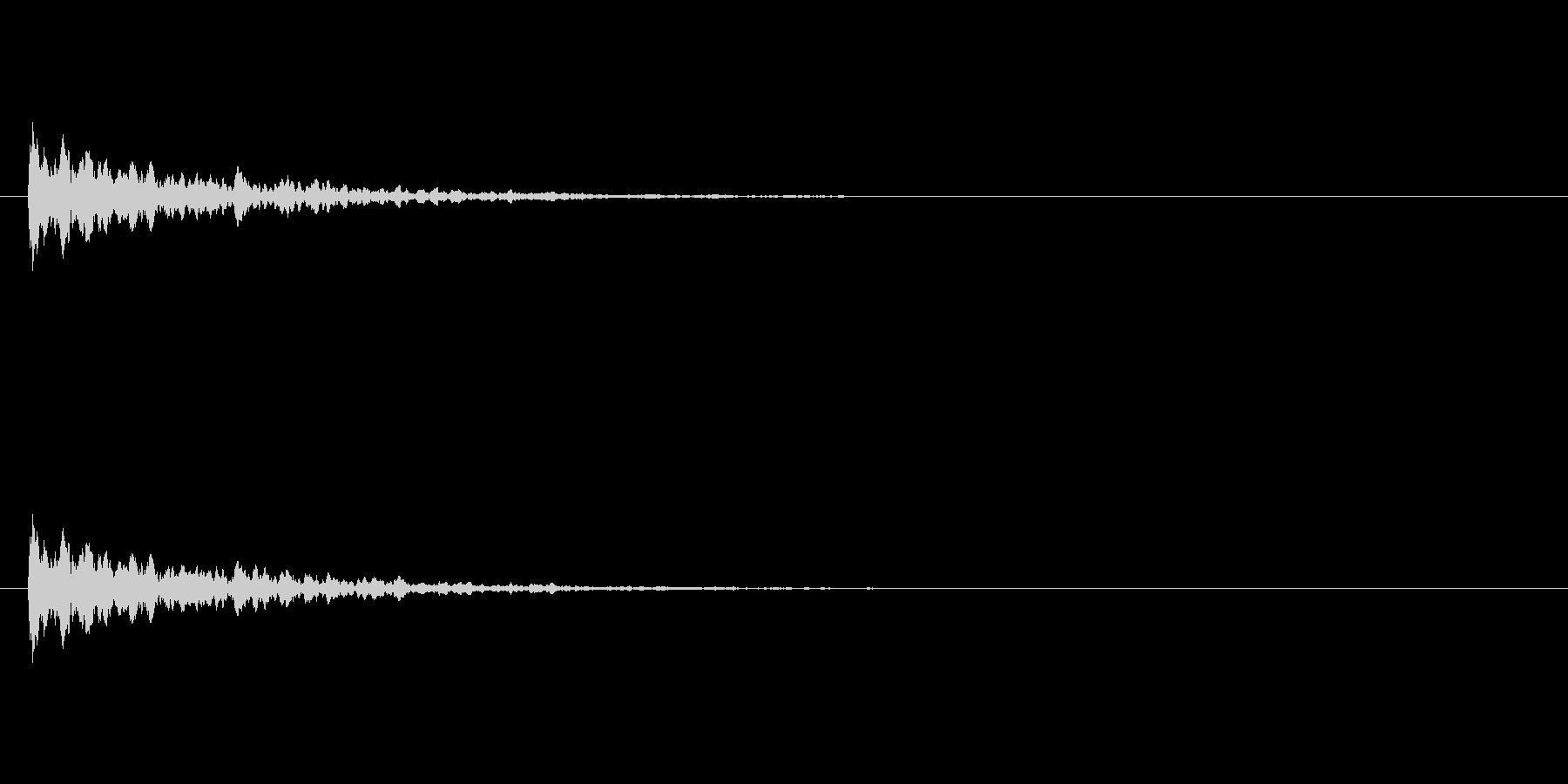 【アクセント09-2】の未再生の波形