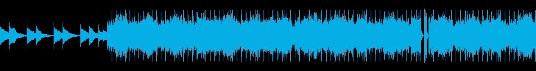 オルゴールが流れるホラーBGMの再生済みの波形