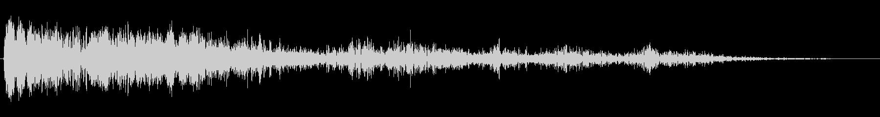 大規模なサンダークリップ;ヴィンテ...の未再生の波形