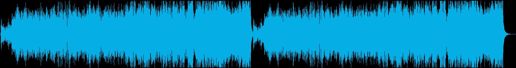 民族調フィールド曲の再生済みの波形